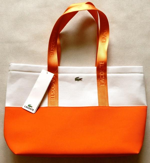 сумка Лакост пляжная женская