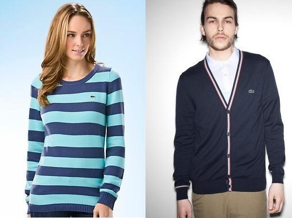 Продажа свитеров Лакост - мужские и женские
