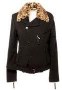куртка из текстиля с отделкой, D&G из магазина одежды Модаполис