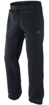Мужской спортивный костюм Nike - брюки черного цвета для бега