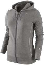 Женская олимпийка от спортивного костюма Nike серого цвета