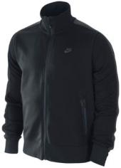 Мужской костюм Nike - олимпийка черного цвета для бега